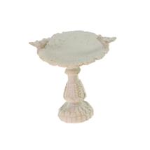 1:12 Scale Dollhouse Miniature Fairy Garden Furniture Resin Bird Bath - $10.22