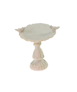1:12 Scale Dollhouse Miniature Fairy Garden Furniture Resin Bird Bath - $10.22