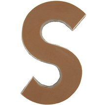 Philadelphia Candies Solid Milk Chocolate Alphabet Letter S, 1.75 Ounce Novelty  - $7.87