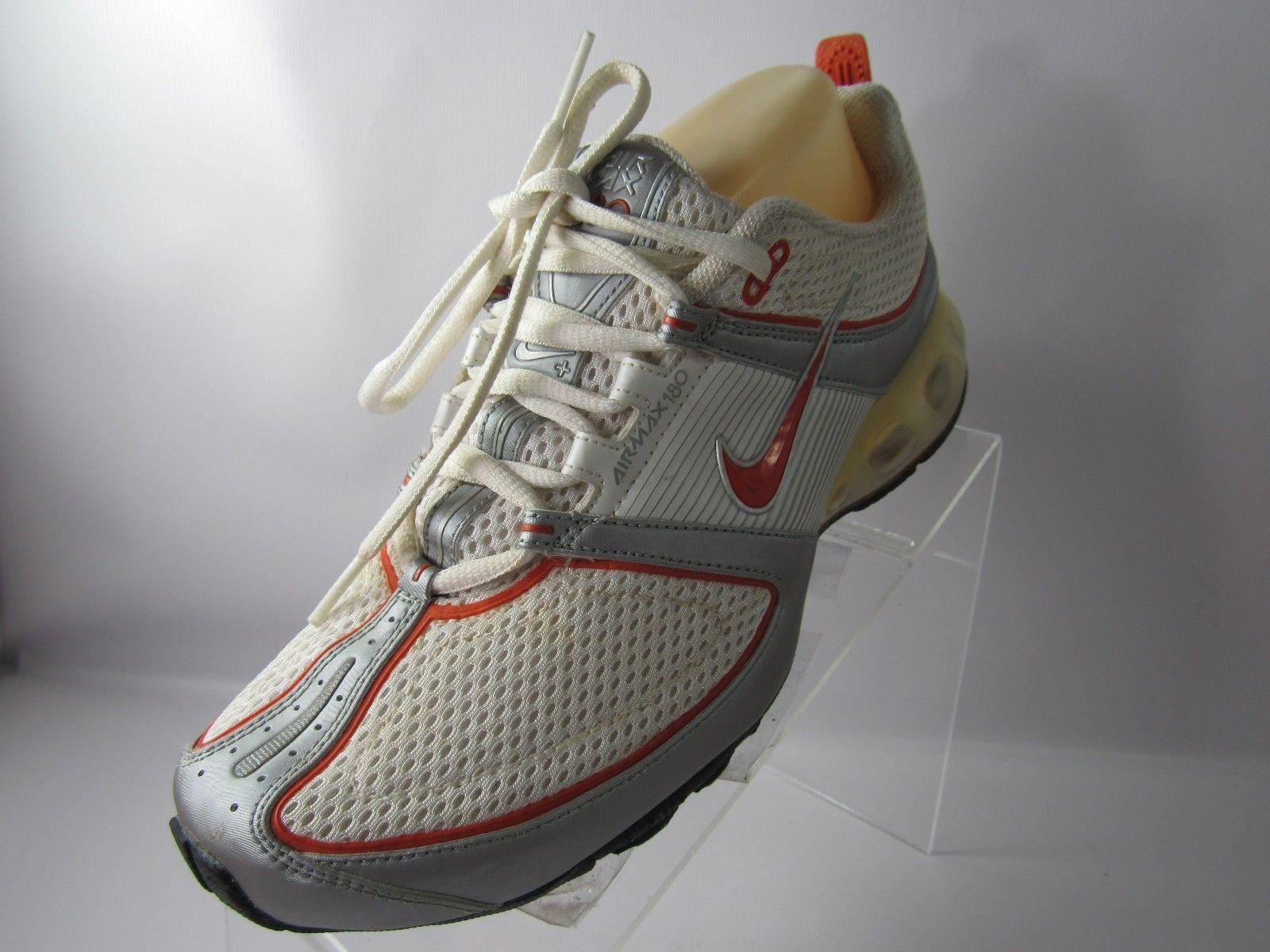 fdc444760f9 Nike Air Max 180 314017-181 Sz 8 M Orange and 50 similar items