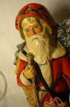 Vaillancourt Folk Art Father Christmas on a donkey  signed. by Judi! Last one! image 5