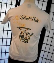 USF School of Music Screen Stars thin retro 50/50 tee shirt large USA - $19.95