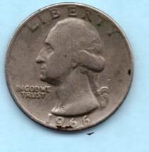1966 Washington Quarter - Moderate Wear - $4.00