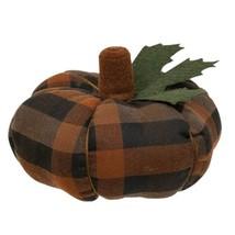 Earthtone Plaid Pumpkin Large - $43.51