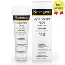 Neutrogena, Age Shield Face, Oil-Free Sunscreen, SPF 110, 3 fl oz (88 ml) - $26.88