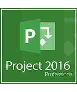 Microsoft Project 2016 Professional 32/64 Bit Key & Download - $8.90