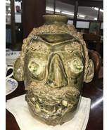 Face Jug Sweet Gum Pottery Georgia - $420.00