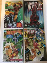 Wolverine #41 42 43 44 Marvel Comic Lot 4 1991 VF+/NM Condition X-MEN - $8.99