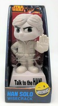 Funko Wisecrack Star Wars Talk To The Han Solo Bobble-Head Figurine Jouet - $16.25