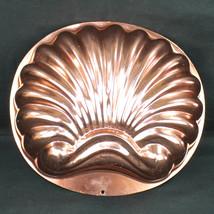Scallop Shell Jello Mold Wear Ever Copper Color 2980 6 Cup - $18.99
