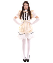Adult Women's Anime Cosplay French Maid Fancy Uniform Costume | Copper Cosplay C - £19.51 GBP