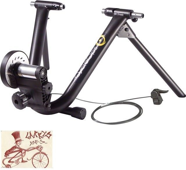 CYCLEOPS 9902 MAG PLUS BLACK TRAINER WITH REMOTE