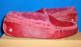 UGG Australia Women's ANSLEY Exotic Sangria Moccasins Size US 10 NIB #1002390 - $63.31