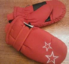 Kid Mittens Red one size Thinsulate Gloves Insulation 40 gram Sledding W... - $184,07 MXN