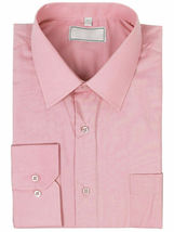 Men's Solid Long Sleeve Formal Button Up French Convertible Cuff Dress Shirt image 14
