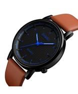 Men Quartz Watch Minimalist Waterproof Sport Watches Leather Strap Luxur... - $45.12