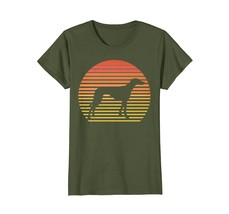 Italian Greyhound Shirt Retro Dog Silhouette Funny T shirt - $19.99+