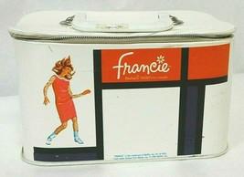 Vintage Mattel 1965 Barbie's MOD'ern Cousin Francie Travel Make-Up Train... - $89.10