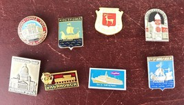 Vintage Lot Of 8 Pin - $14.03