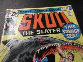 1976 SKULL The SLAYER  6 * Time Travels to Dinosaur Era * GD * Steve Gan... - $1.00