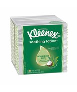 Kleenex Soothing Lotion Tissues 3-Ply (65 Count) Tissues with Coconut Oi... - $9.99