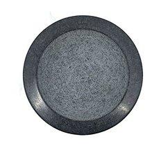 Kota Japan Large Black Granite Mortar & Pestle Natural Stone Grinder for Spices, image 5