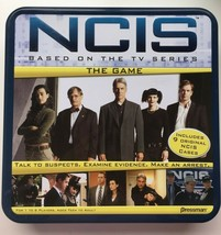 Pressman NCIS The Game 2010 Board Game In Tin Box - For 1 to 6 Players - Age 13+ - $18.39