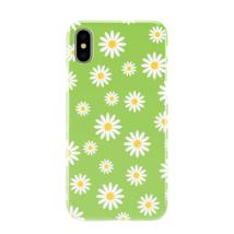 Light Green Daisy Floral Design iPhone Galaxy Phone Case - $11.99