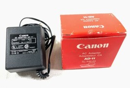 Canon AD11 6V Power Supply Charger Adapter For P20 DX Electronic Calculators NIB - $9.99