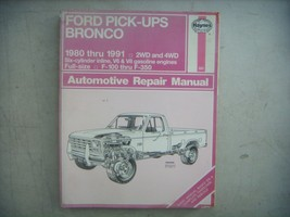 Ford Bronco  1980-1991 Haynes Repair Manual, Service Guide - $11.83