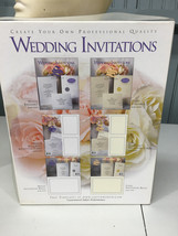 Southworth Ivory Color Wedding Invitations 25 Cotton New in Box - $20.49 CAD