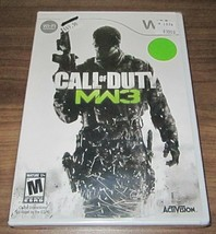 Call of Duty: Modern Warfare 3 (Nintendo Wii, 2011) .. sealed new - $4.95