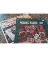 Set of 2 Fabric Craft Pattern Booklets Variety of Themes MEL-027 - $2.41