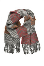 Giada Benincasa Unisex Everyday Scarf Warm Multicolor Size OS - $197.03