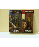"GEARS OF WAR - JD FENIX FIGURE + FEAR WALKKING DEAD ""TRAVIS""- FREE SHIPP... - $20.57"