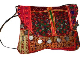 Hand Embroidered Clutch Bag-Vintage Banjara Gypsy Embroidered Clutch Purse80 - $54.45