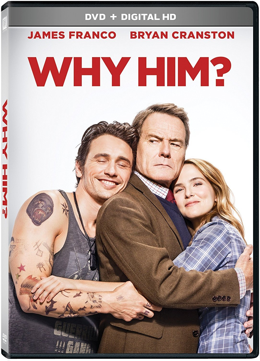 Why Him? (2017, DVD)