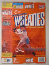 Empty Wheaties Box 2001 18oz Cal Ripken, Jr [Z202f1] - $5.58