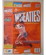 Empty WHEATIES Box 2001 18oz CAL RIPKEN, JR [Z202f1] - $5.58