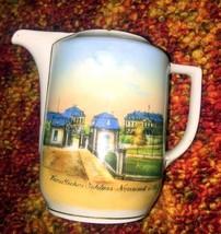 """Vintage Bavaria Small Pitcher or Creamer """"Furstliches Schloss Neuwied"""" - $9.89"""