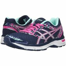 Asics womens Gel Excite 4 Navy Pink Running Shoes Sneakers 10/ 42 EUC image 10