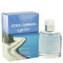 Light Blue Swimming in Lipari by Dolce & Gabbana Eau De Toilette Spray f... - $66.99