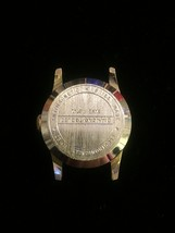 """Vintage Silver Montreluxe 1 1/8"""" watch (No band)  image 2"""