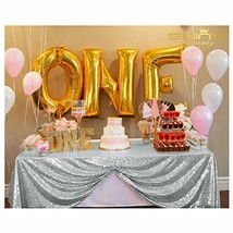 ShiDianYi Sequin Tablecloth, Wedding Table Cloth, Sparkle Sequin Linens,... - $22.42