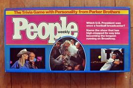 Vintage People Weekly Trivia Board Game Parker Brothers 1984 - $7.59