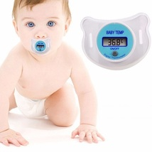 3 Pack - New Baby LCD Digital Infant Temperature Nipple Thermometer - Re... - $15.86