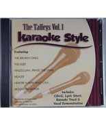 The Talleys Trio Volume 1 Christian Karaoke Style NEW CD+G Daywind 6 Songs - $15.86