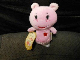 "Hallmark Itty Bitty's ""Hug-Lovin' Hippo"" 2014 Limited Ed. NEW TAG HAS CR... - $4.70"