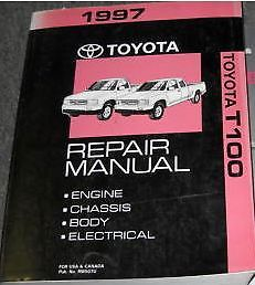 Primary image for 1997 Toyota T100 T-100 TRUCK Service Shop Repair Manual BRAND NEW FACTORY
