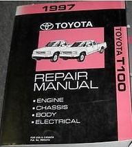 1997 Toyota T100 T-100 Truck Service Shop Repair Manual Brand New Factory - $222.75